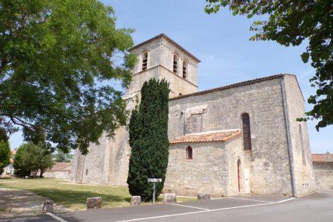 Foussignac - L'église Saint-Cybard-et-Saint-Laurent (15 juin 2017)