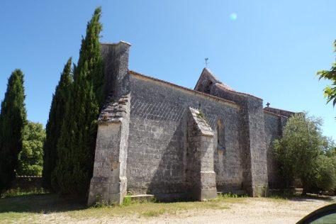Eglise à Graves-Saint-Amant (10 juin 2017)