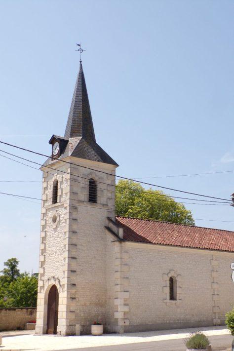 Fleurac - L'église Sainte-Élisabeth(15 juin 2017)