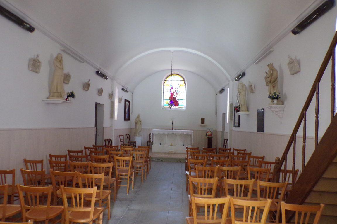 Fleurac - L'église Sainte-Élisabeth- Vue de l'entrée (15 juin 2017)