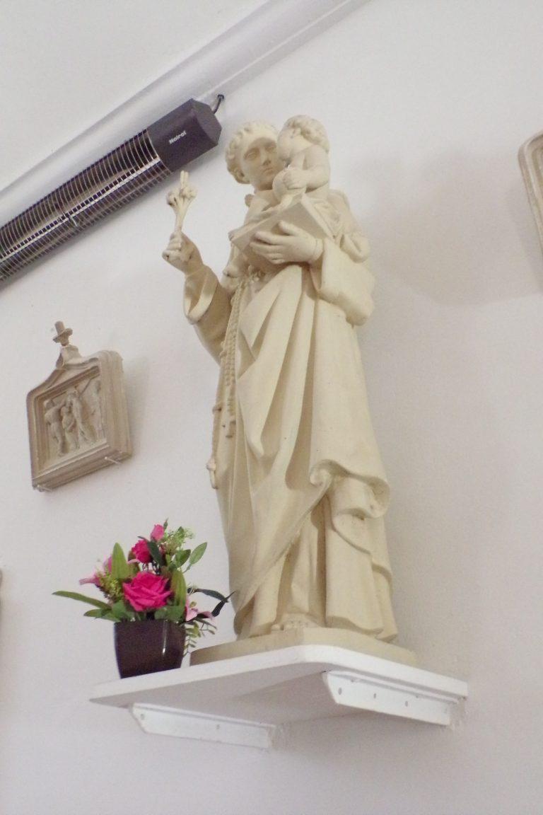 Fleurac - L'église Sainte-Élisabeth - Saint Antoine de Padoue(15 juin 2017)