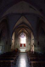 Javrezac - L'église Saint-Pierre - Vue de l'entrée (22 juin 2017)