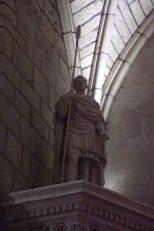 Sigogne - L'église Saint-Martin - Un centurion (15 juin 2017)