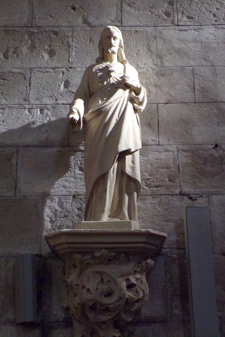 Sigogne - L'église Saint-Martin - Sacré-coeur (15 juin 2017)