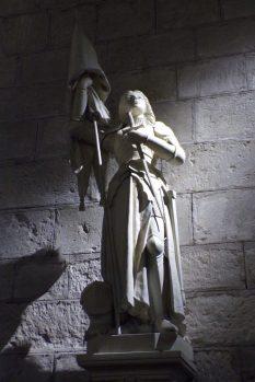 Sigogne - L'église Saint-Martin - Jeanne d'Arc (15 juin 2017)