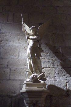Sigogne - L'église Saint-Martin - L'archange Saint-Michel (15 juin 2017)