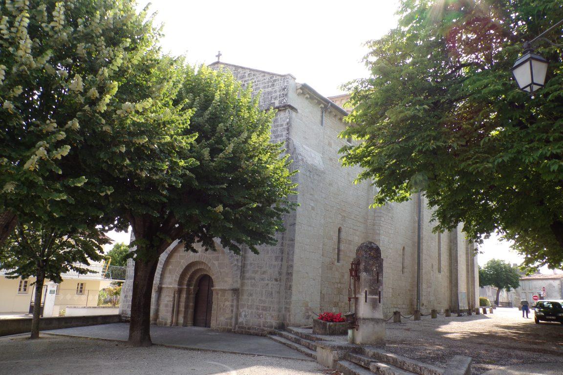 Sigogne - L'église Saint-Martin (15 juin 2017)