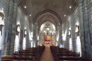 Sigogne - L'église Saint-Martin - Vue de l'entrée (15 juin 2017)