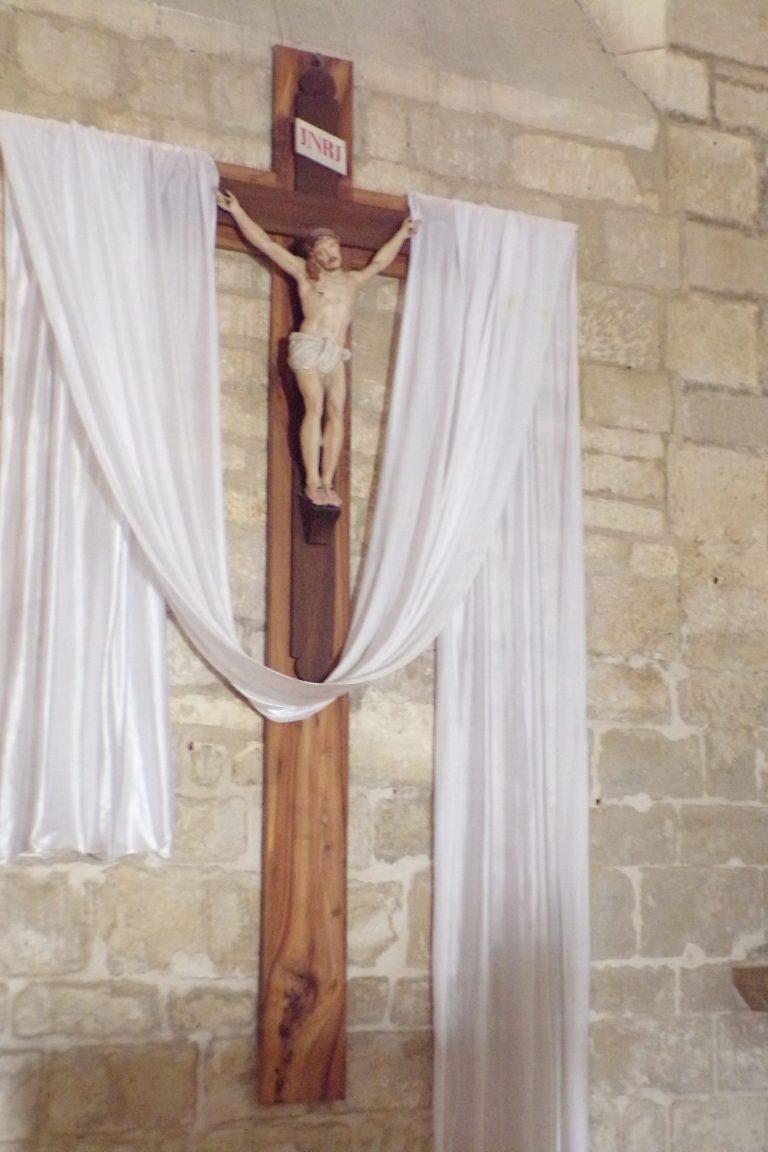 Mérignac - L'église Saint-Pierre - Le crucifix (10 juin 2017)