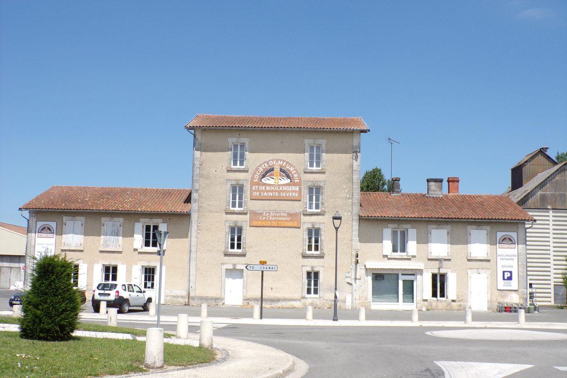 Sainte-Sévère - La meunerie et la boulangerie (12 juin 2017)