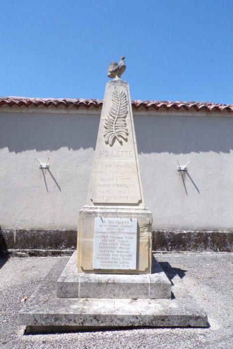 Le monument aux morts (12 juin 2017)