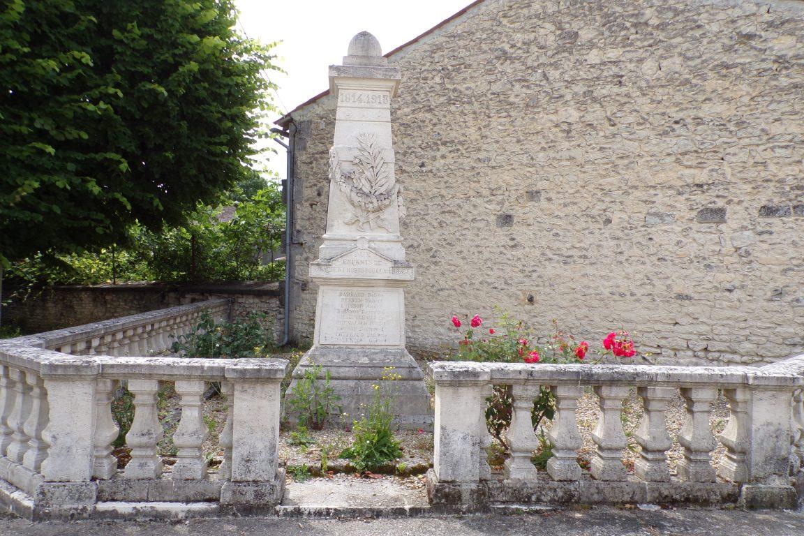 Saint-Laurent de Cognac - Le monument aux morts (4 juin 2017)