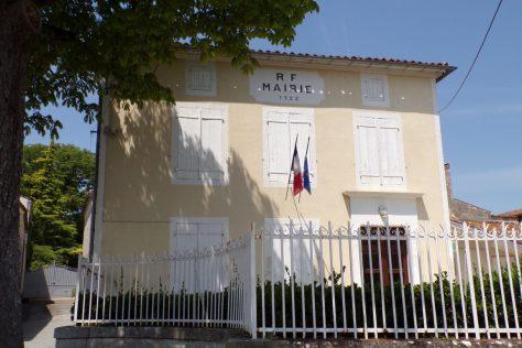 Fleurac - La mairie (15 juin 2017)
