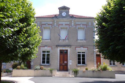 Mairie de Sainte-Sévère (12 juin 2017)