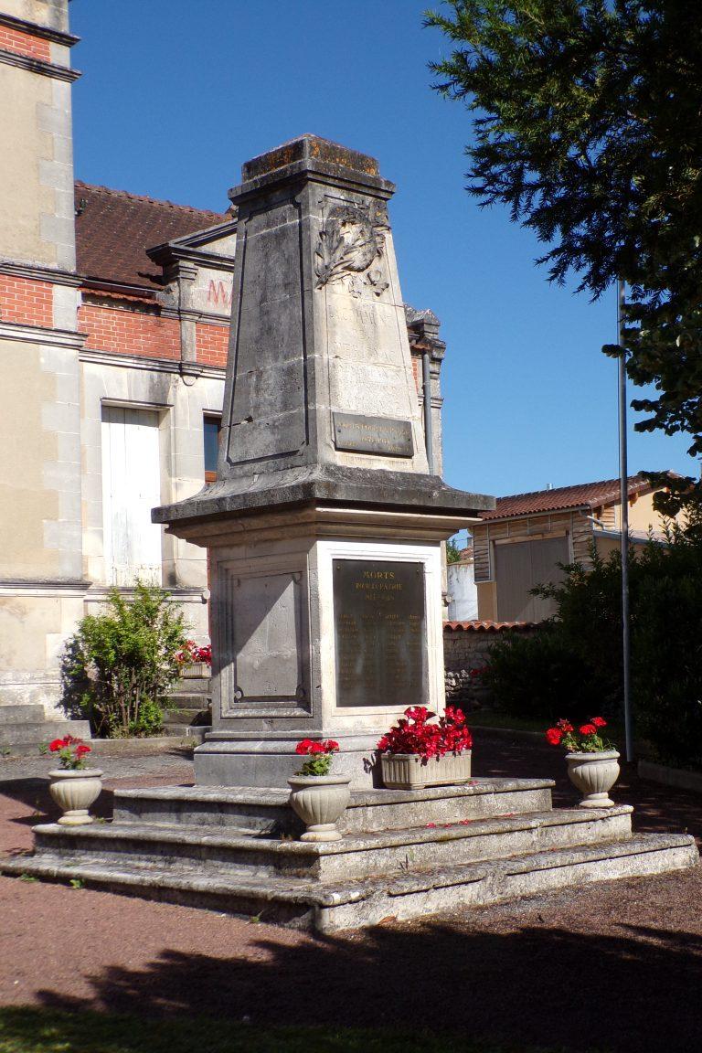 Mérignac - Le monument aux morts (10 juin 2017)