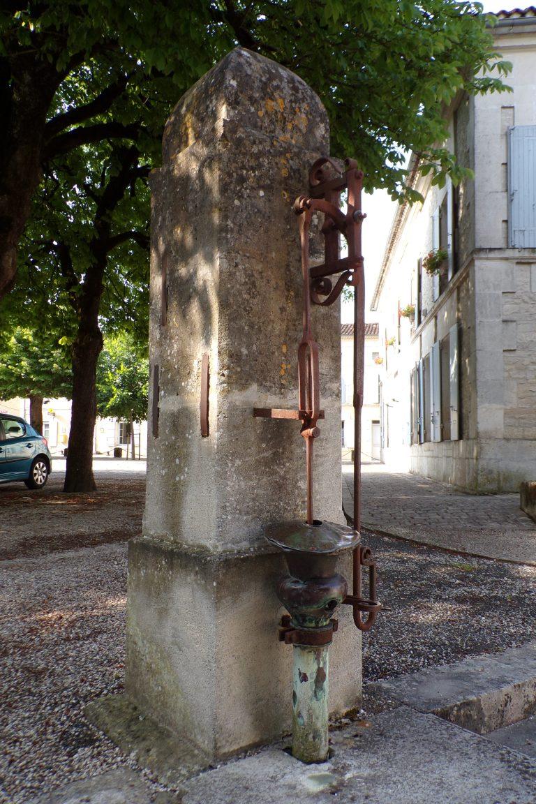 Sigogne - La pompe (15 juin 2017)