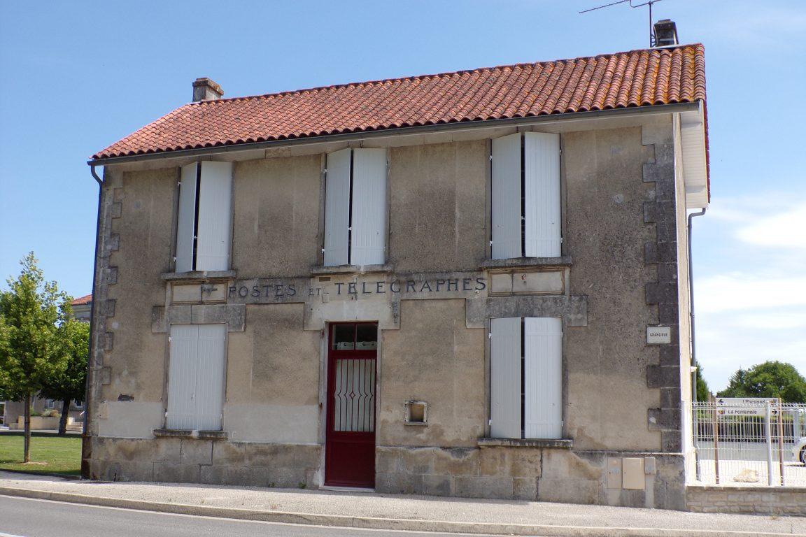 Sainte-Sévère - PTT (12 juin 2017)