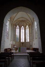 Matha - L'église Sainte-Hérie - L'autel (21 juillet 2017)