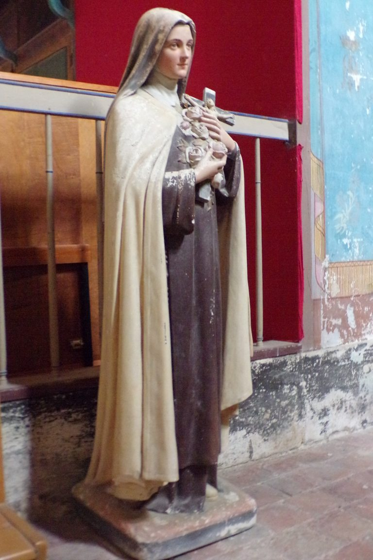 Matha - L'église Sainte-Hérie - Sainte Thérèse de l'Enfant Jésus (21 juillet 2017)