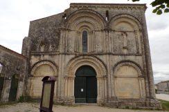 Matha - L'église Saint-Hérie (21 juillet 2017)