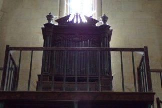 Matha - L'église Sainte-Hérie - L'orgue (21 juillet 2017)