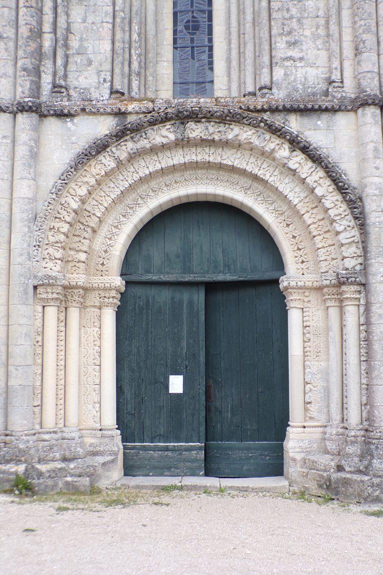 Matha - L'église Sainte-Hérie (21 juillet 2017)