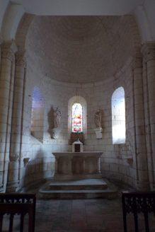 Thors - L'église Sainte-Madeleine - L'autel (24 septembre 2017)