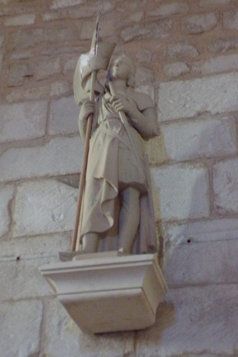 Thors - L'église Sainte-Madeleine - Jeanne d'Arc (24 septembre 2017)