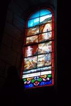 Thors - L'église Sainte-Madeleine - Le vitrail 'Notre-Dame de Lourdes' (24 septembre 2017)