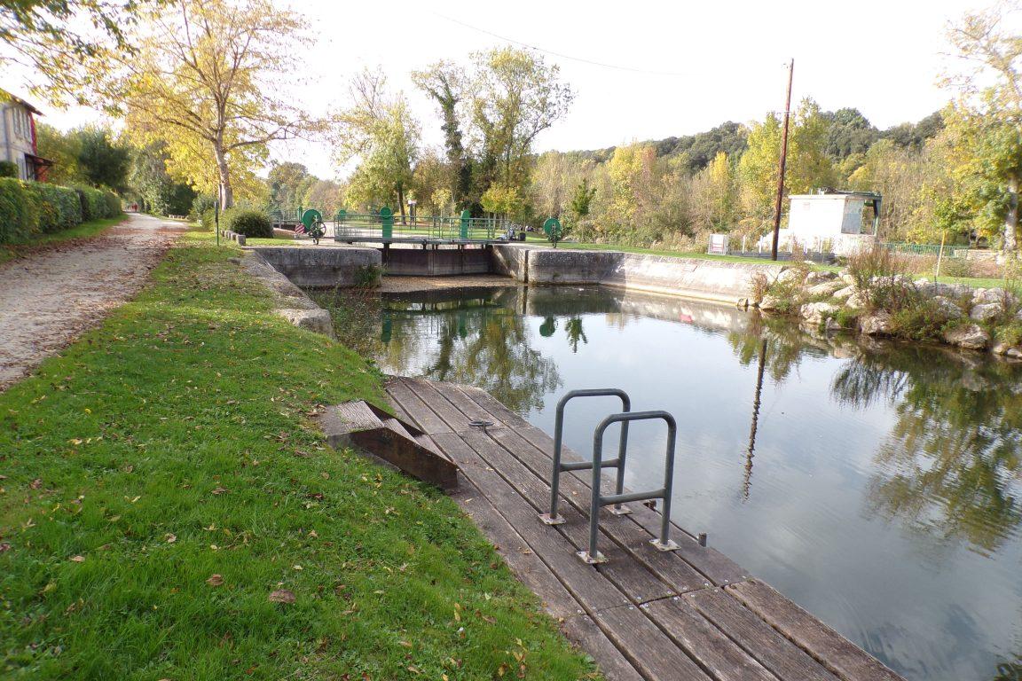 Saint-Brice - L'écluse de Gademoulin (15 octobre 2017)