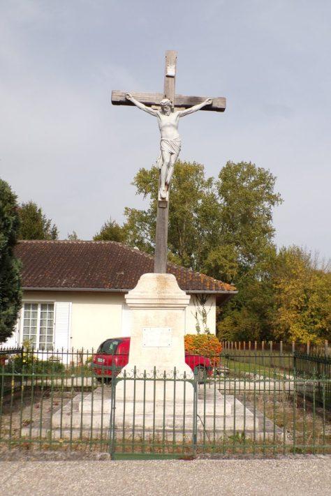 Gensac la Pallue - La croix 'Venez à Moi' - Mission 1910 (15 octobre 2017)