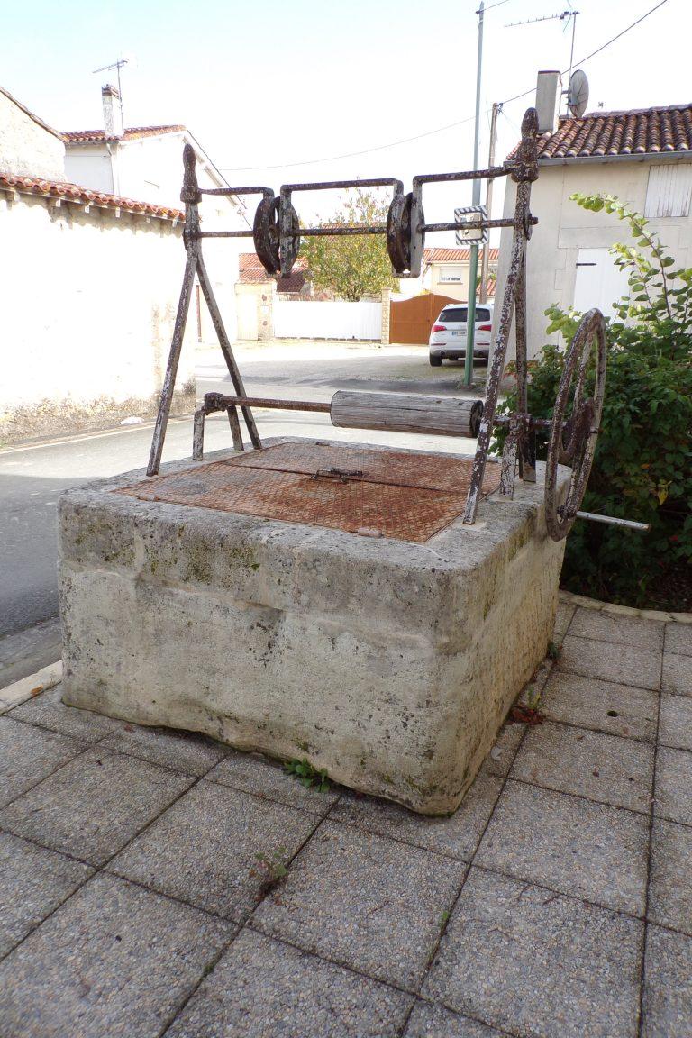Merpins - Le puits de la rue du Puits (15 octobre 2017)