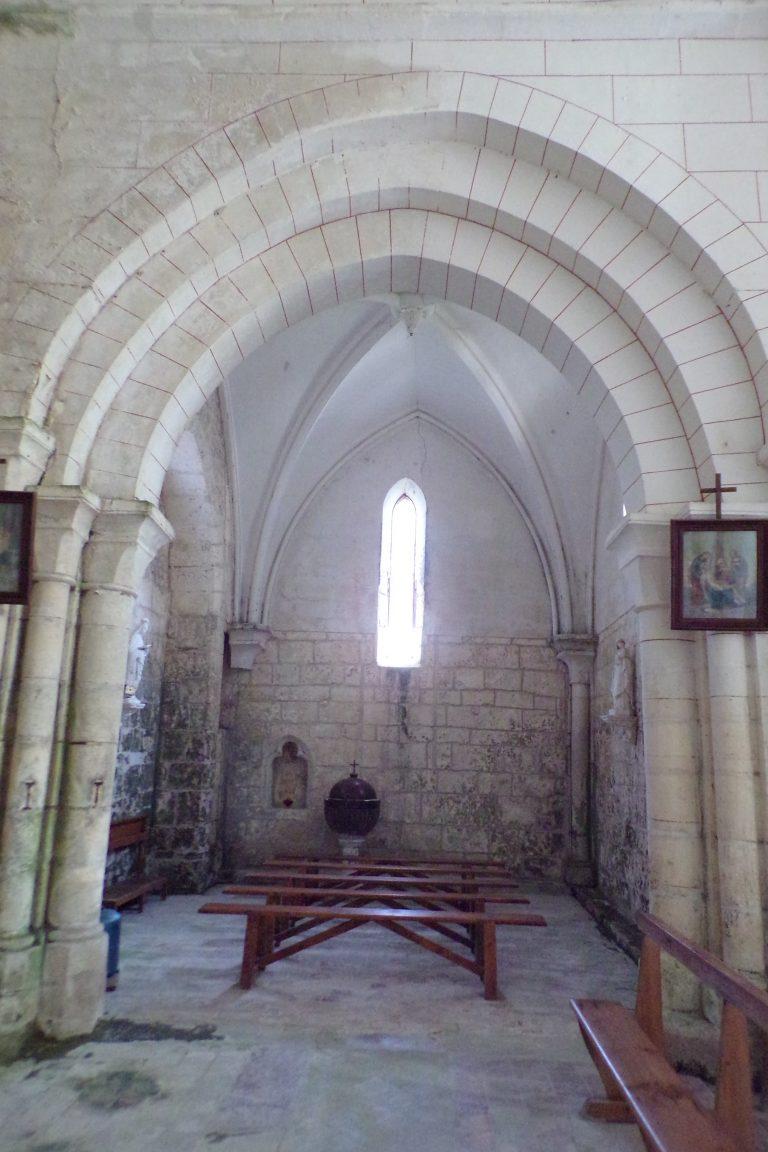 Bonneuil - L'église Saint-Pierre (1 novembre 2017)