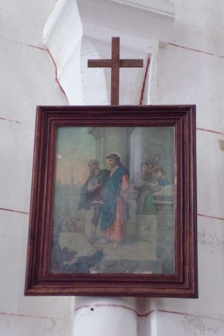 Bonneuil - L'église Saint-Pierre - Le chemin de croix (1 novembre 2017)