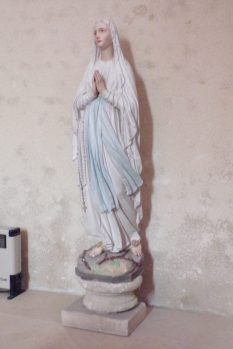 Lignières-Sonneville - L'église Notre-Dame - Notre-Dame de Lourdes (1 novembre 2017)