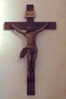 Lignières-Sonneville - L'église Notre-Dame - Le crucifix (1 novembre 2017)