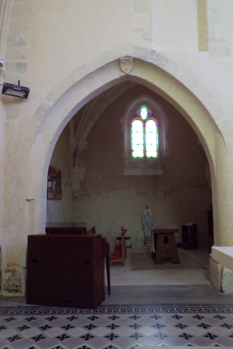 Lignières-Sonneville - L'église Notre-Dame (1 novembre 2017)