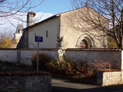 Église Sainte-Marie-Madeleine de Crouin (21 novembre 2016)