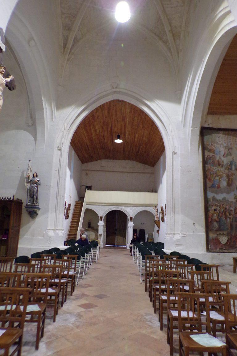 Sonnac - L'église Saint-Etienne - Vue de l'autel (2 janvier 2018)