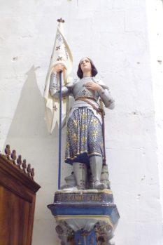 Sonnac - L'église Saint-Etienne - Jeanne d'Arc (2 janvier 2018)