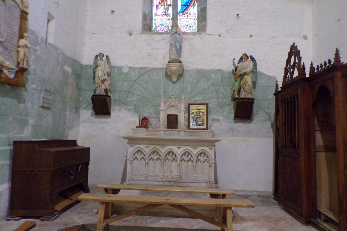 Sonnac - L'église Saint-Etienne - La chapelle Notre Dame' (2 janvier 2018)