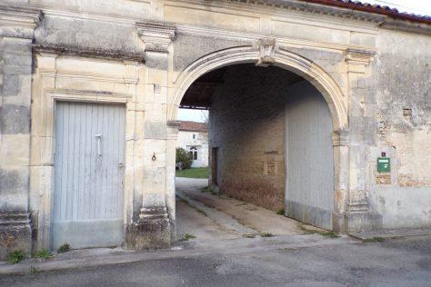 Bréville - Portail à la Coudre 1851 (23 février 2018)
