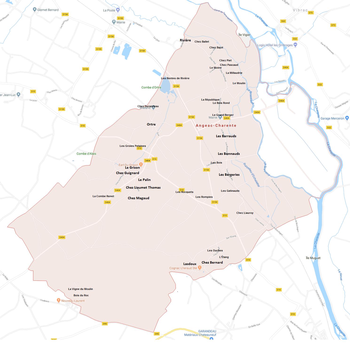 Hameaux d'Angeac-Charente