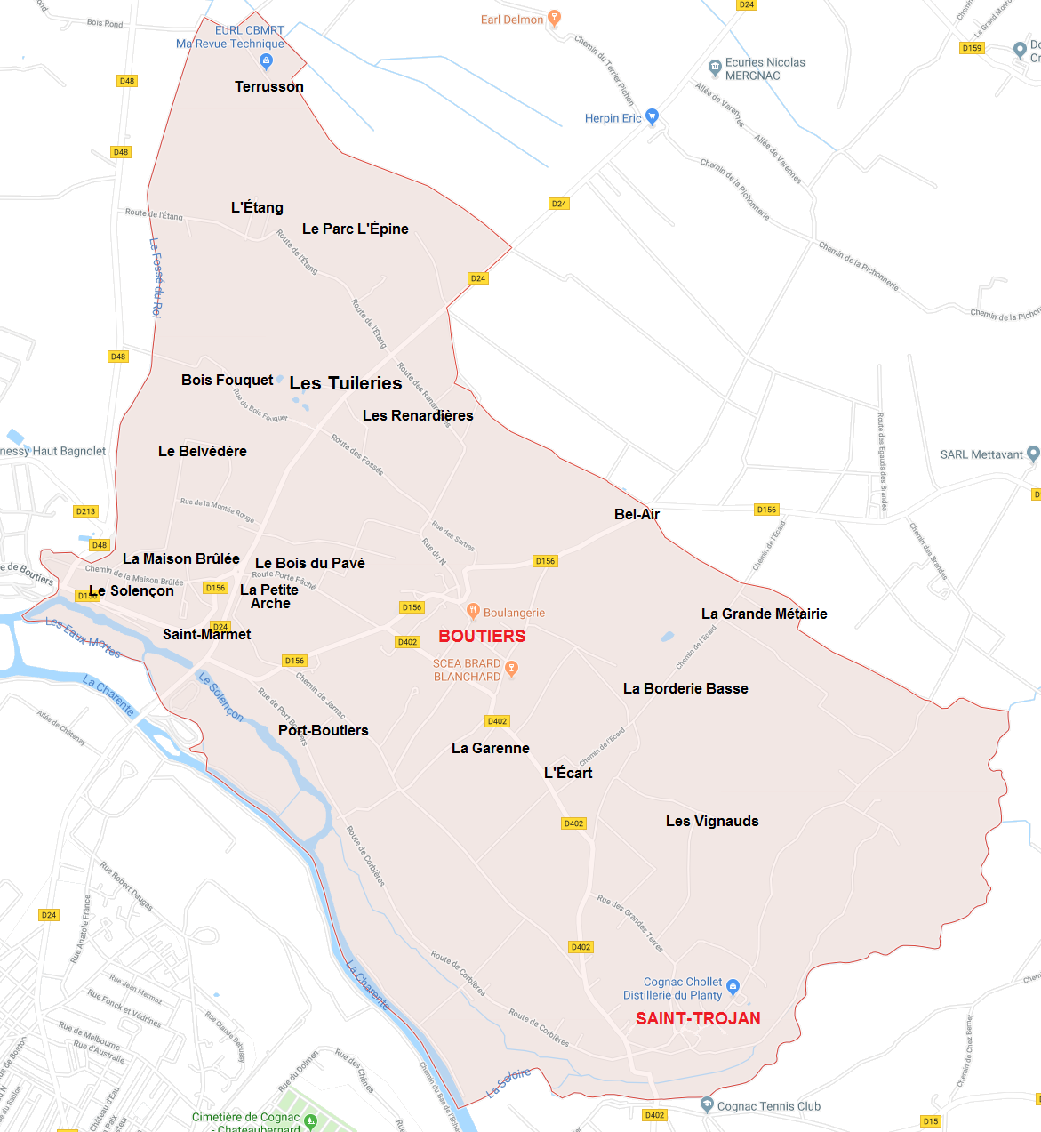 Hameaux de Boutiers-Saint-Trojan