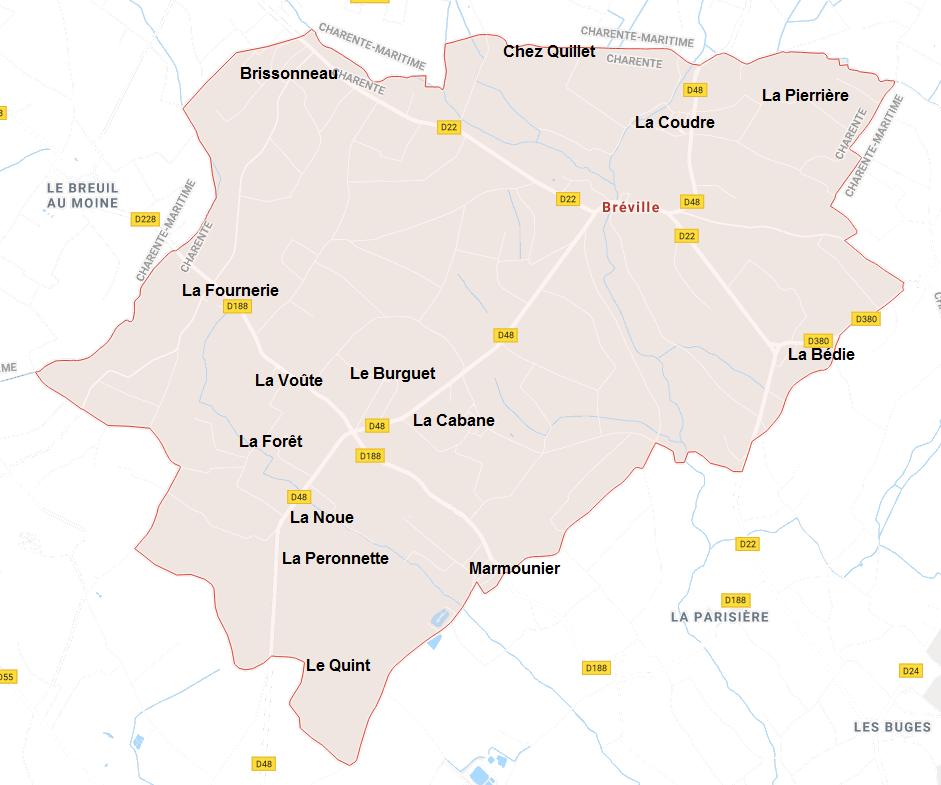 Hameaux de Bréville