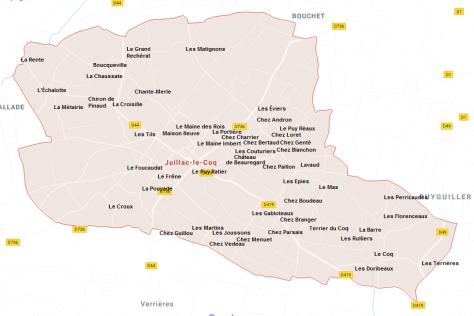 Hameaux de Juillac-le-Coq