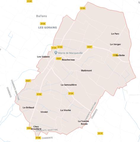 Hameaux de Macqueville