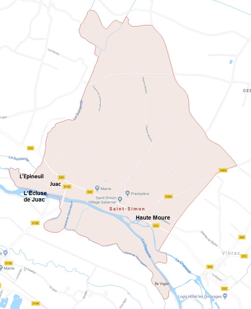 Hameaux de Saint-Simon