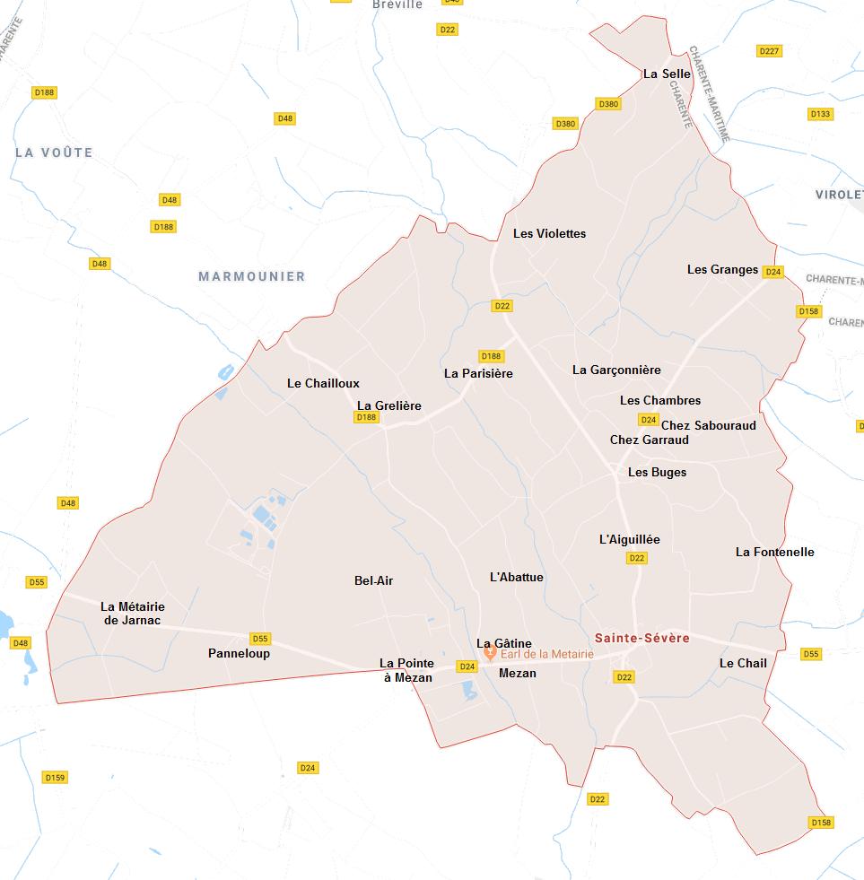 Hameaux de Sainte-Sévère