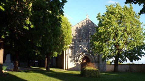 Ballans - L'église Saint-Jacques (25 avril 2018)